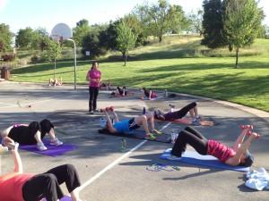 Moraga Boot Camp Strength training Super Sets