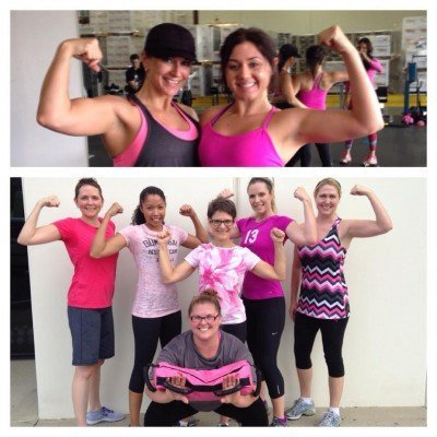 breast cancer awareness workout