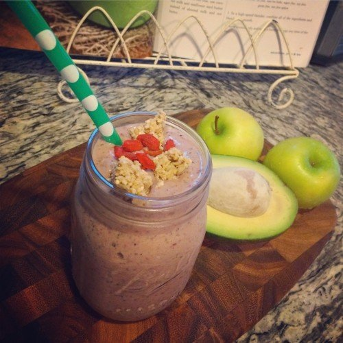 All aboard the smoothie train!
