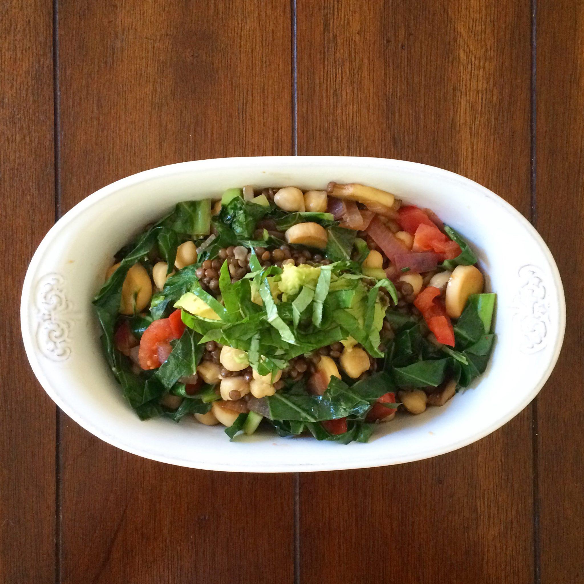Divine Lentil Salad