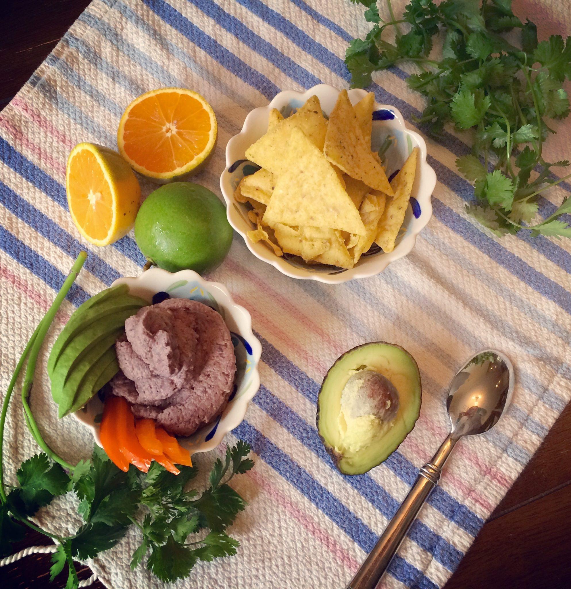 Cilantro Lime Black Bean Hummus
