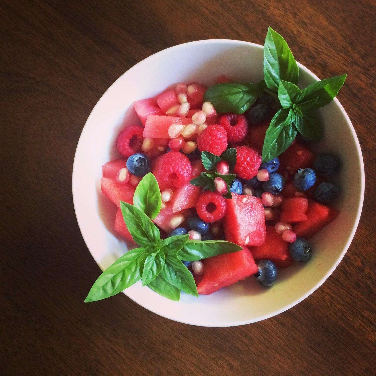 Foot Loose & Fancy Free Fruit Salad