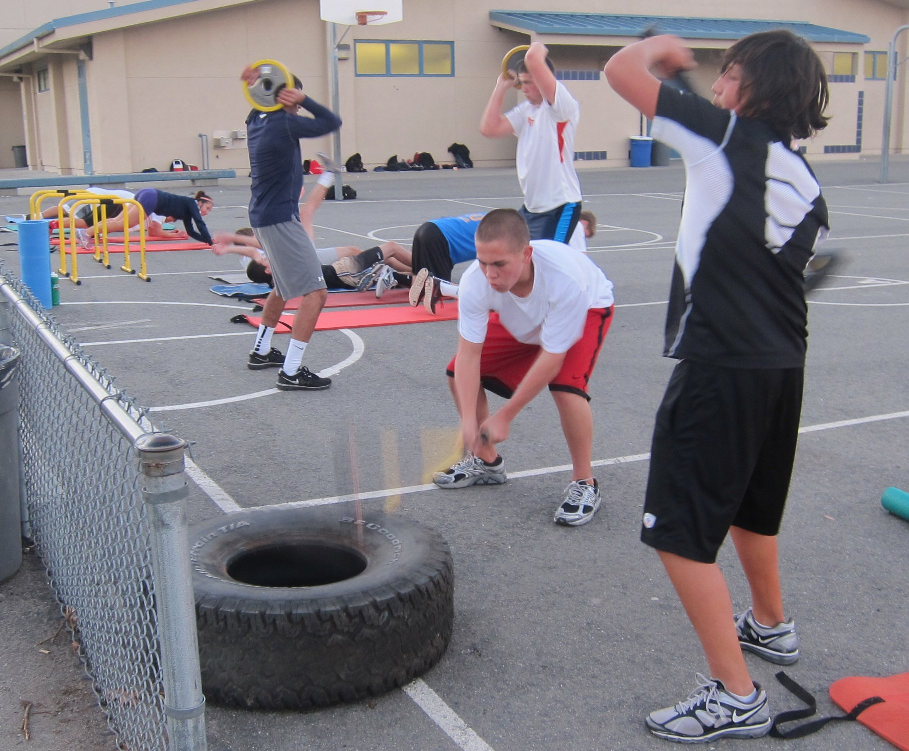 Teen Athletic Conditioning is BACK!