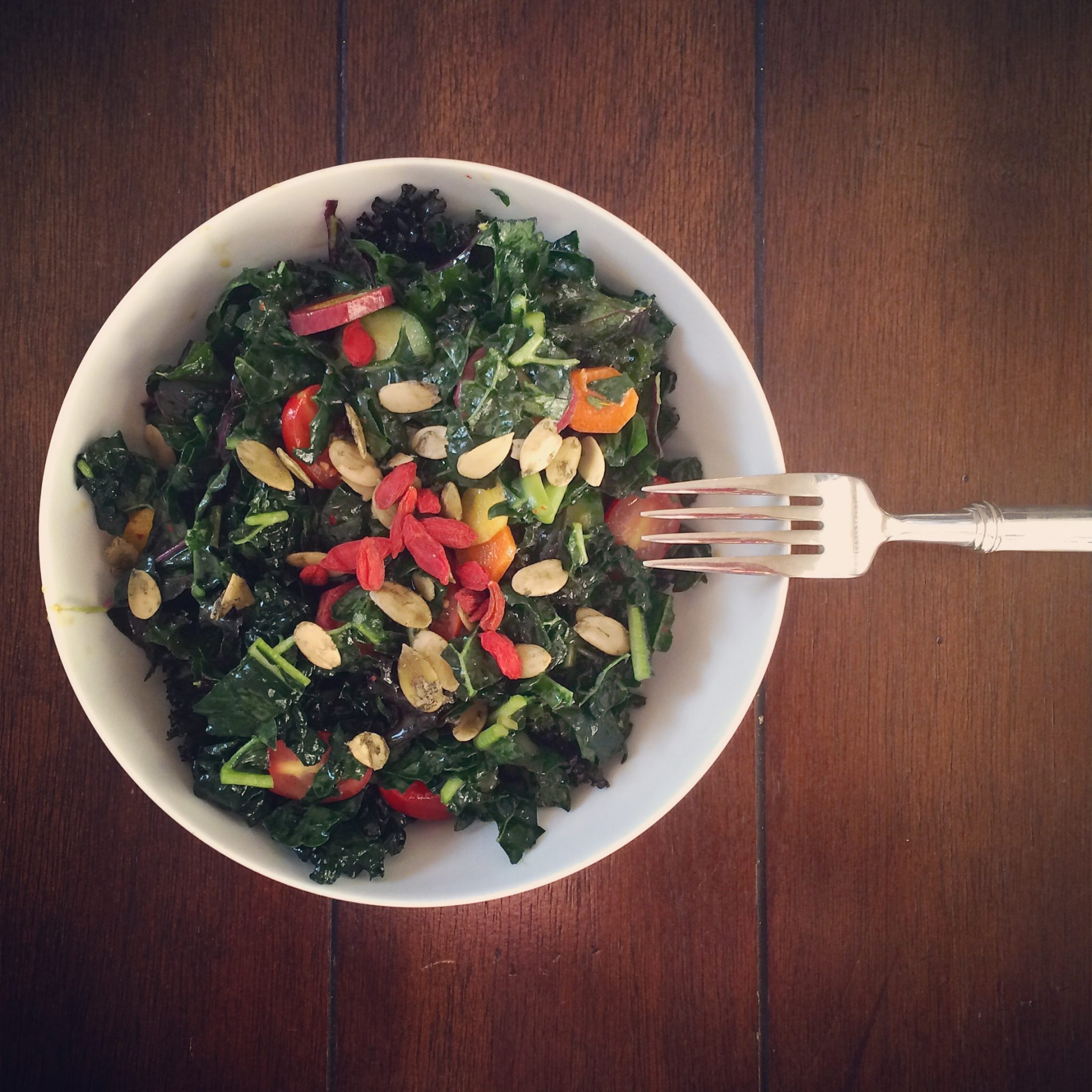 Go Green with Hot Salad!