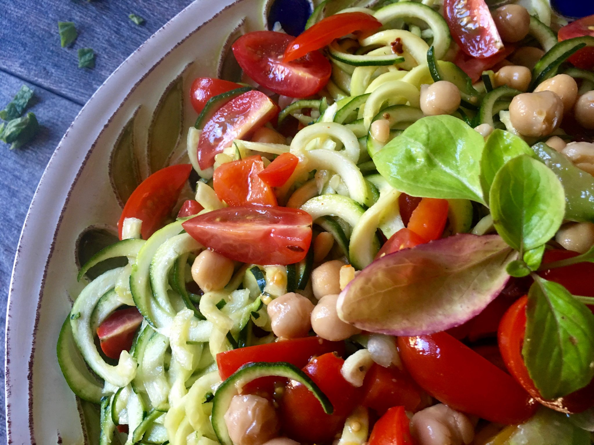 Summertime Zoodle Pasta