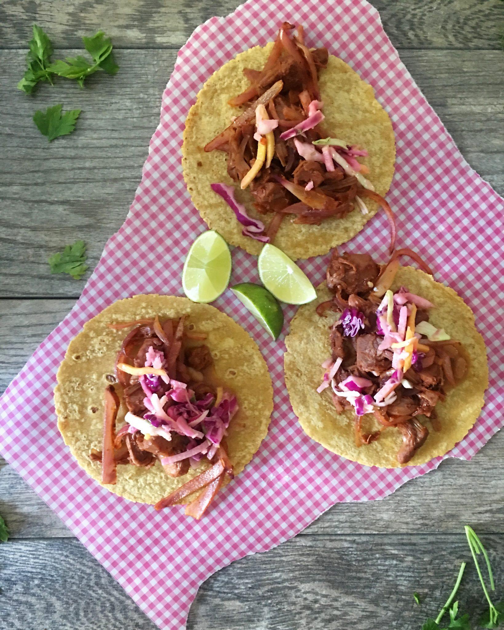 BBQ Jackfruit Tacos
