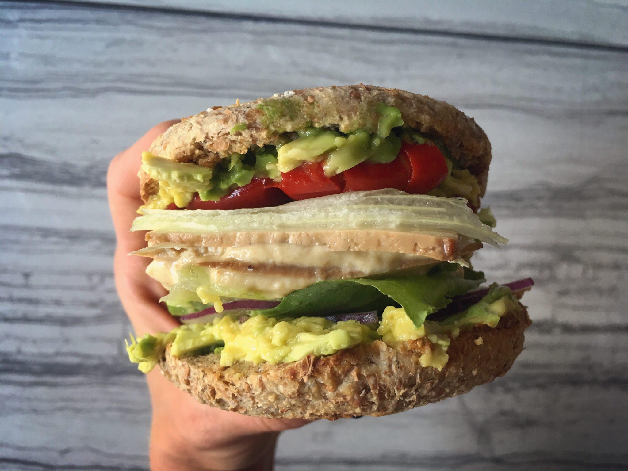 Friday Feast: Mighty Tofu Sandwich