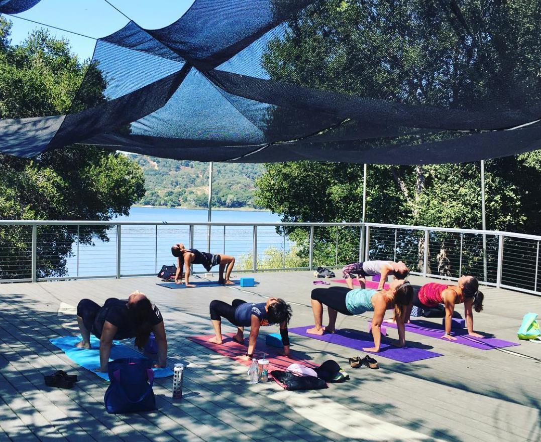 Outdoor Yoga through September!
