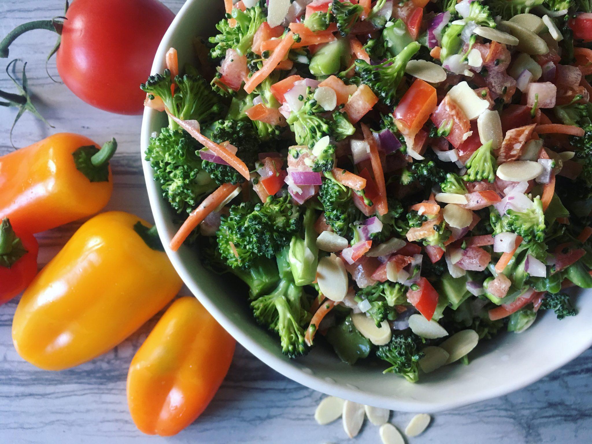 Friday Feast – Fresh Broccoli Salad