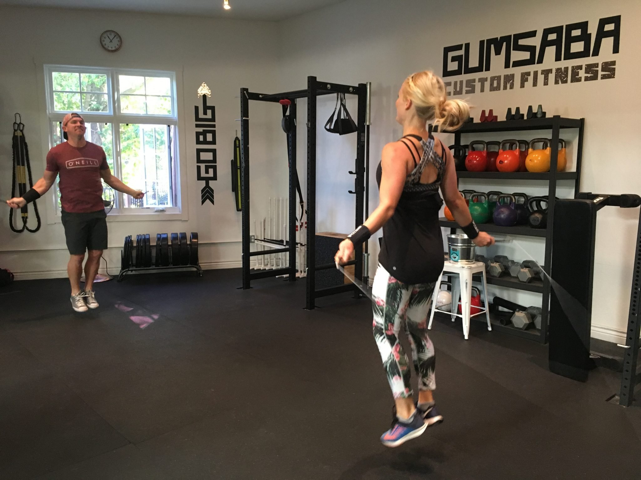 Gumsaba Home Workout With Coach James!