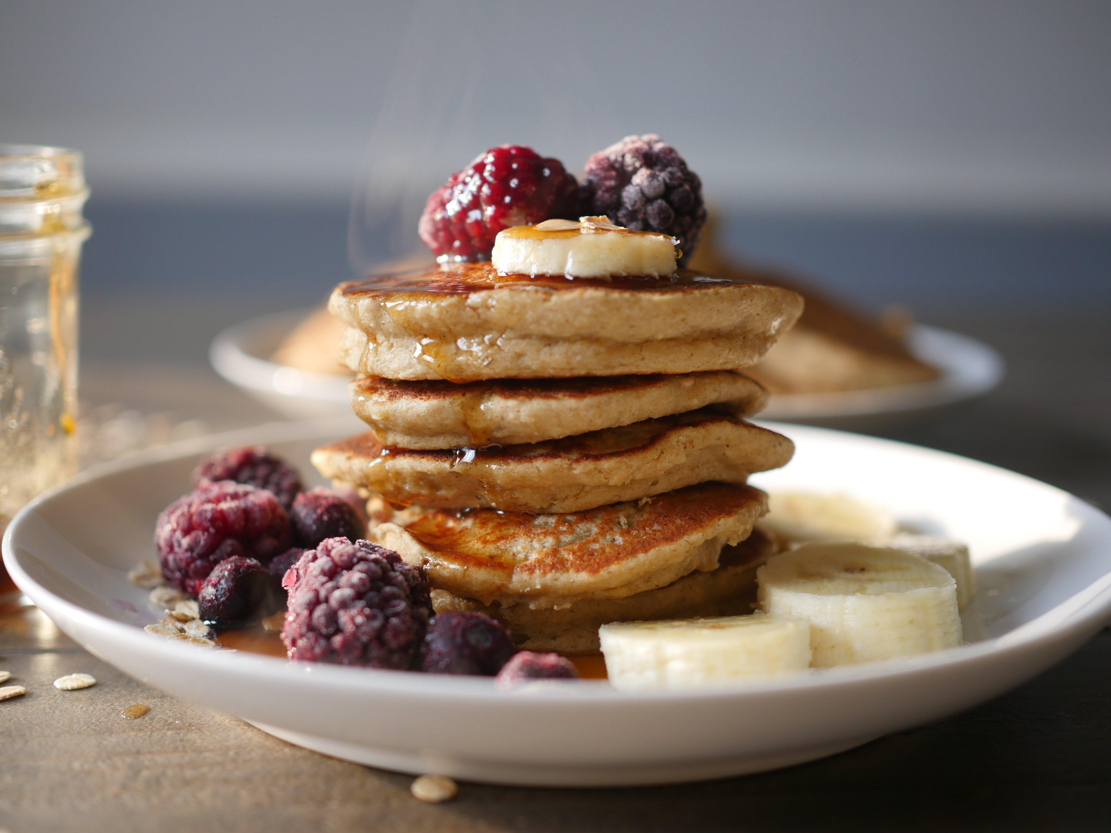 Foodie Friday: Pumpkin Oatmeal Pancakes