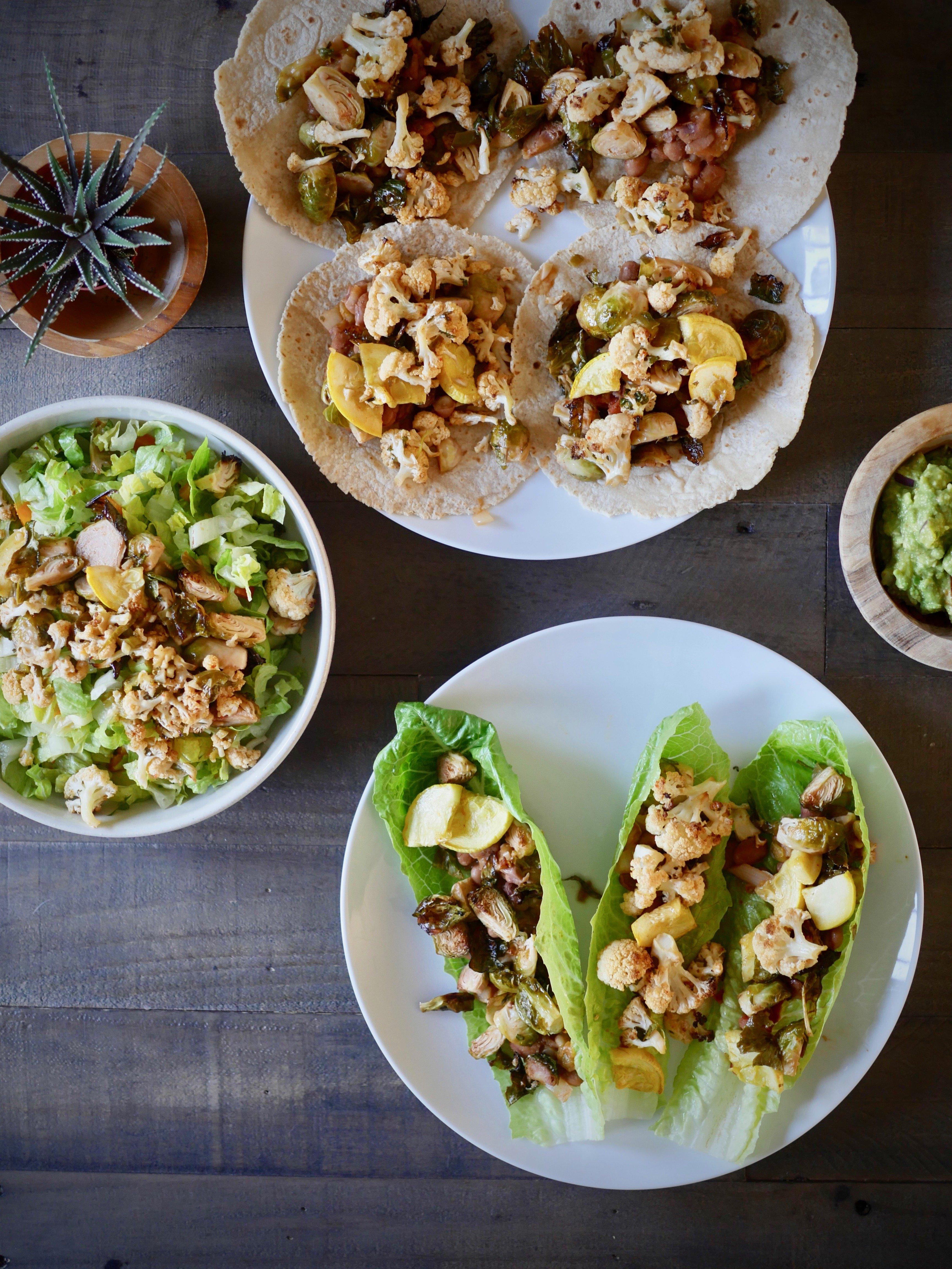 Foodie Friday: Loaded Veggie Tacos ~ 3 Ways
