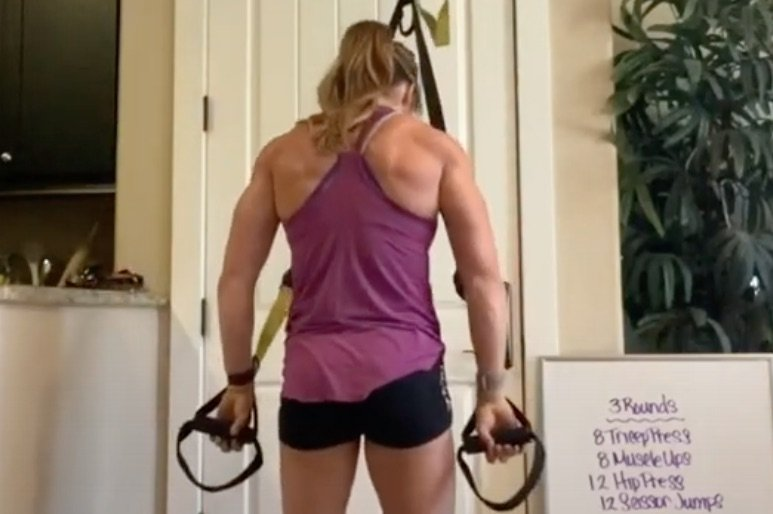 TRX Stay Home Quick Workout With Breezy