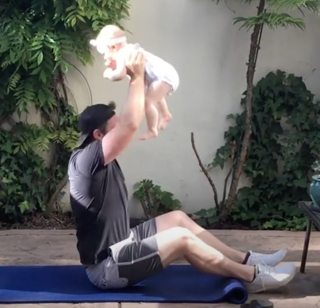Quick Home Workout with James & Mila