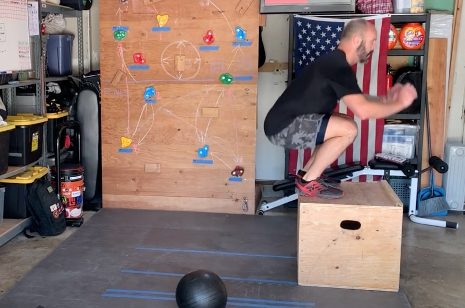 Stay Home Boot Camp – Coach Michael AMRAP.