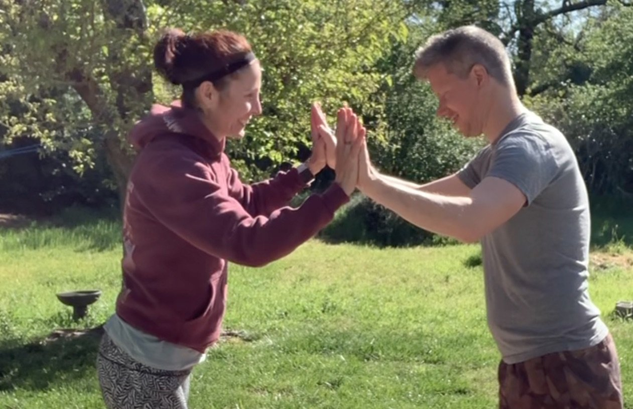 Home Bound Friday – 10 minute HIIT with M & Chad